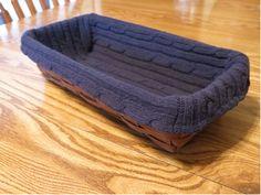 The Big Basket Blog | DIY Sweater Basket Liner