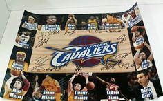 Cleveland Cavaliers 2014-15 Team Autographed 16x20 Photo