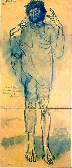 Picasso, El loco, Barcelona