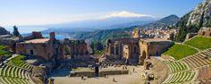 Il Viaggiatore Magazine - Teatro Greco - Taormina, Me
