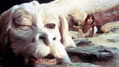 The NeverEnding Story on Sky Movies - children's fantasy adventure Family Movies, Top Movies, Great Movies, Pet Sematary, Magical Creatures, Fantasy Creatures, The Neverending Story, Lets Play A Game, Cinema