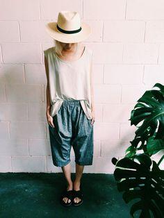 Martha W McQuade Slouch Shorts | Shop Nanin