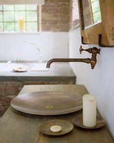 Thinking this is a must on bathroom #3 downstairs...the photography/guest bathroom...