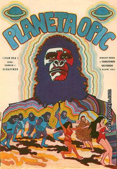 Trippy Czechoslovakian movie posters of classic American films | Dangerous Minds