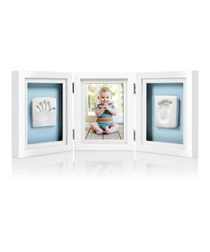 Love this White Baby Prints Deluxe Desk Frame by Pearhead on #zulily! #zulilyfinds