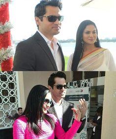Veena Malik and Bashir Khan Khattak