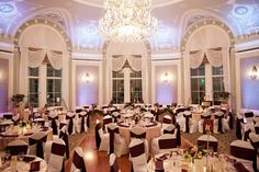 Leah  & Chad: Classic Winter Wedding. Wedding Reception, Fairmont Hotel Macdonald