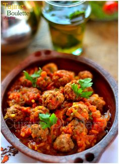 Kekta Balls with Rice Korma, Couscous, Ground Beef, Chicken Recipes, Curry, Dishes, Cooking, Ethnic Recipes, Ramadan