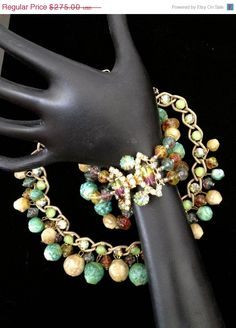 Absolutely Gorgeous RARE Hobe Necklace and by Vintageimagine, $206.25