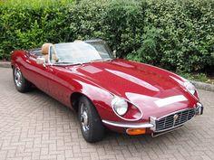 Jaguar E type V12 Roadster 1974