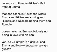 Rumple meeting Emma an Killian in the past part 2