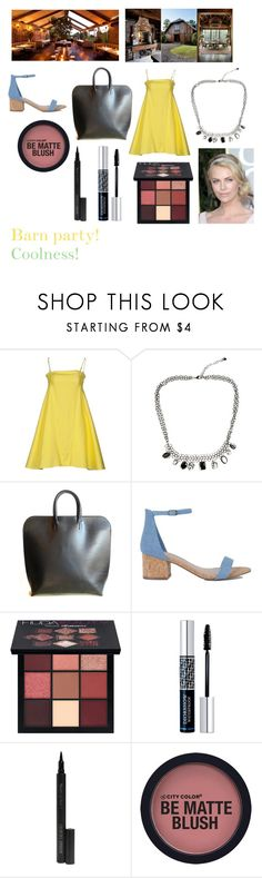 """""""For musicfreakofnature (friend) - musicfreakofnature's ideal wardrobe by me: Barn party!"""" by sarah-m-smith ❤ liked on Polyvore featuring Attic and Barn, Huda Beauty, Christian Dior and Giorgio Armani"""