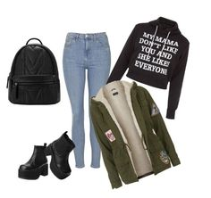 """Без названия #5"" by daria0151212 on Polyvore featuring мода, Topshop и T.U.K."