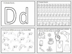 Cursive Writing Worksheets, Easy Easter Crafts, Letter Activities, Letter D, Learning To Write, Homeschool, Bullet Journal, Google, Diy