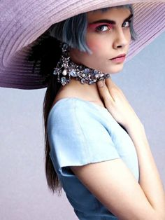Futuristic French Queen Fashion - The Chanel Cruise 2013 Catalog is Rebelliously Regal (GALLERY)