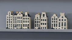 Plan voor wijk met echte KLM-huisjes in Delft   NOS