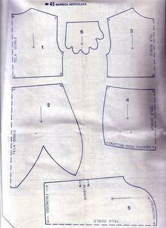Ткань куклы (шаблоны) - Univision Форум / Forum - 232 570 242