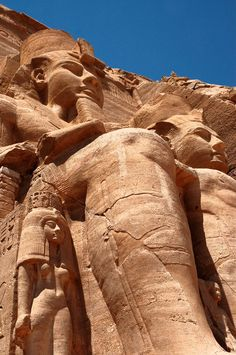 Ramses at Abu Simbel Temple, Egypt - by armando cuéllar