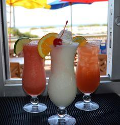 Vacation Drinks at the Beach! Wicked Cantina, Bradenton Beach
