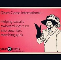 Drum Corps International...this made me think of you @Travis Vachon Johnson