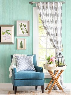 Transform your home with these colorful spring decor ideas. We'll show you how to use spring home decor and how to DIY spring decor to liven up your existing furniture.