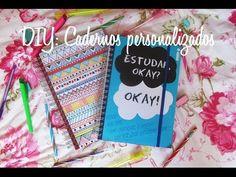 DIY: cadernos personalizados ✄ - YouTube