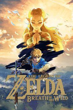 The Legend of Zelda : Breath of the Wild - Gold Logo | #BotW #NintendoSwitch #WiiU xboxpsp.com/...