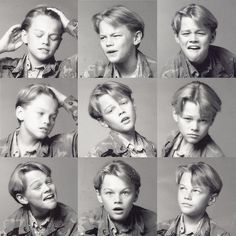 Awesome Photos Of Young Leonardo DiCaprio Showing Off His Emotional Range