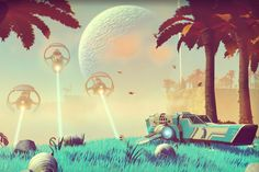 no man's sky game. I want this game so badly, you have no idea