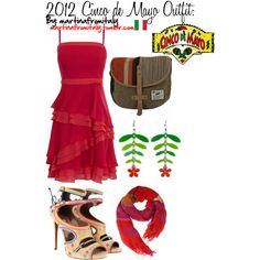 2012 Cinco de Mayo Outfit, created by martinafromitaly on Polyvore