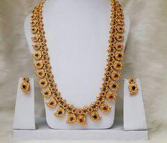 1 Gram Gold Mango Mala Designs - Jewellery Designs