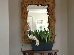 designs that inspire to create your perfect home: Using Mirrors more creatively! Beautiful Mirror!