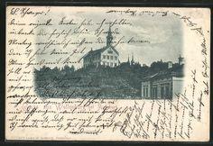 old postcard: AK Augsburg, Ansicht vom Schloß Wellenburg