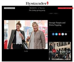 Tatler Bystander - Georgie Turpin and Tricia Topping at the LINLEY Spring Party Spring Party, Events, Luxury