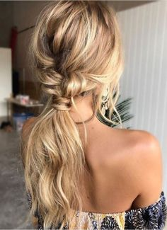 A beachy hairstyle for any summer occasion
