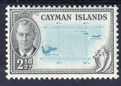 1950 CAYMAN ISLANDS Sg140 ½d TURQUOISE & BLACK VERY LIGHTLY M/MINT (G12) Listing in the Cayman Islands,Commonwealth & British Colonial,Stamps Category on eBid United Kingdom