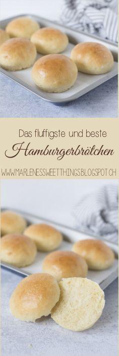 Die fluffigsten Hamburgerbrötchen - Burger Bun