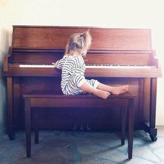 Birdie girl and her Coach play the piano all the time…need this!