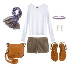 Lavender and Olive, created by bluehydrangea on Polyvore