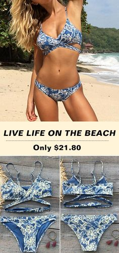 Treat Yourself to Something Special. $21.80&Faster Shipping! High quality & Better service! Dream away, darling! You'll need to come up with some new ones once you get this floral printing swimwear! It will fulfill all your old dreams of looking adorable! Shop Now!