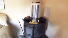 DIY Video : How to Heat your Home without Electricity by building a Rocket Heater from scratch .Step by step build instructions - Practical Survivalist