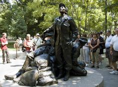 Glenna Goodacre designed the Vietnam Veteran Memorial's tribute to women and many other historical tributes. Goodacre's sculptures garner millions of visitors every year.