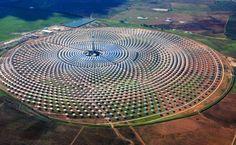 Panouri solare Spania.