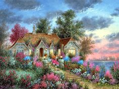 Little Bear Cottage ~ Dennis Patrick Lewan