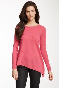 Asymmetric Cashmere Sweater on HauteLook
