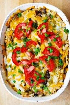 Mexican Mac and Cheese with Black Beans and Sausage