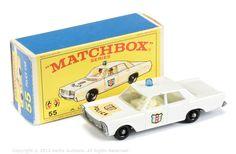 """1966 - 55C - Ford Galaxie """"Police"""" Car"""
