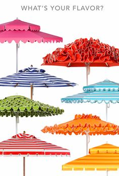 So fun! Santa Barbara Umbrella, Something for Every Taste