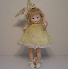 """9"""" Armand Marseille Just Me Doll 310 Fired Bisque Socket Head Adorable   eBay"""
