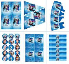 Frozen Birthday Party: Free Printable Party Mini Kit.
